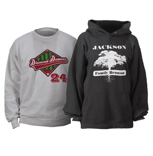 Custom Hoos, Custom Sweatshirts, Personalized Hoos