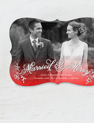 Married & Merry Cards