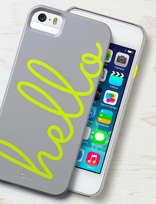 Browse our iPhone 5 Case Collection and personalize by color, design, or style.