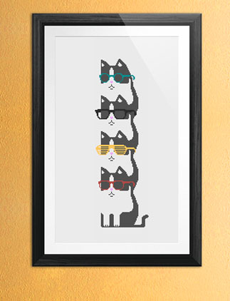 Cool Cat Posters