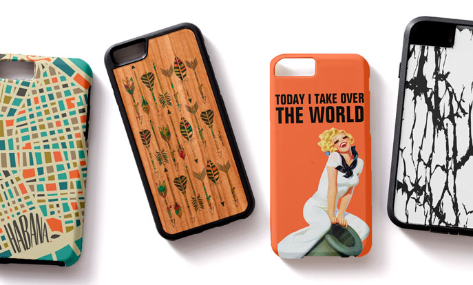 Browse through our huge selection of iPhone 6 cases today and personalize by color, design, or style.